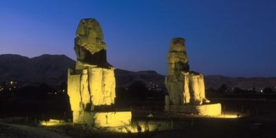 门农巨像 - 底比斯西部 ,埃及