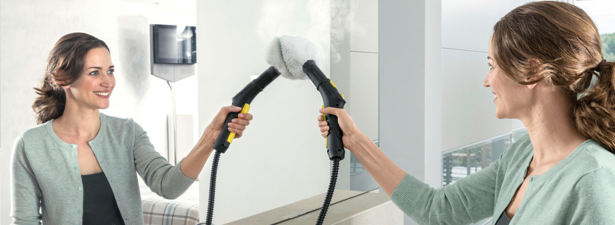 SC 4 EASYFIX IRON PLUG 蒸汽吸尘器(黄)