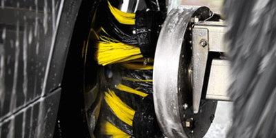 2)独特的轮毂清洗