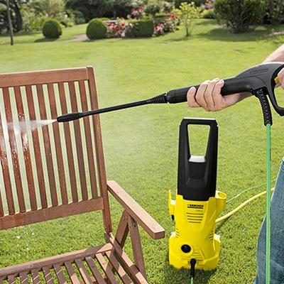 清洗花园家具