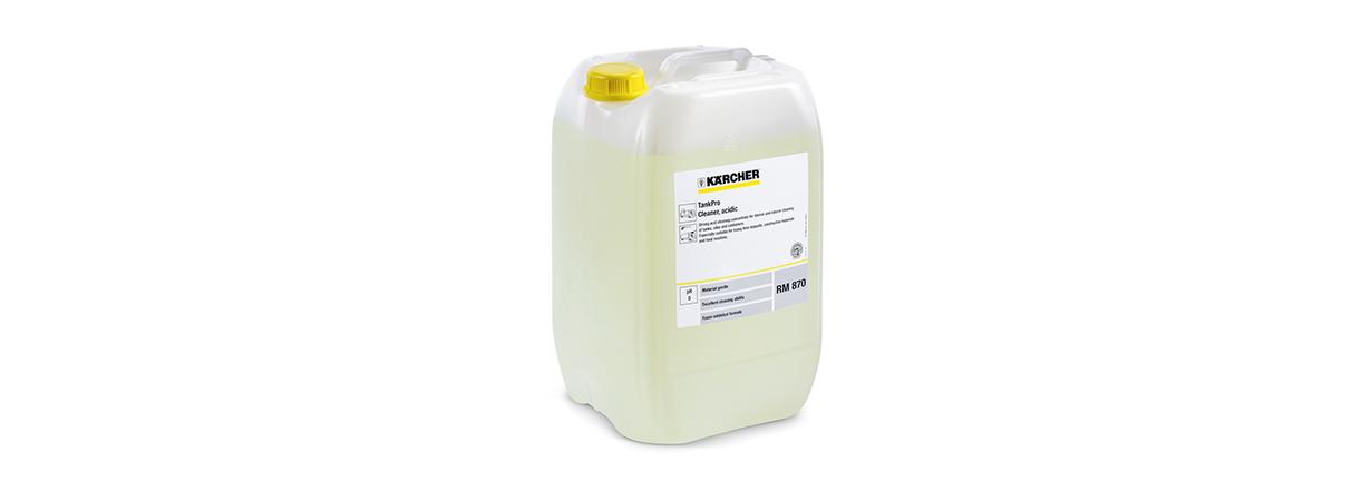 RM870 专业工业储罐酸性清洗剂