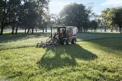草坪修剪与维护