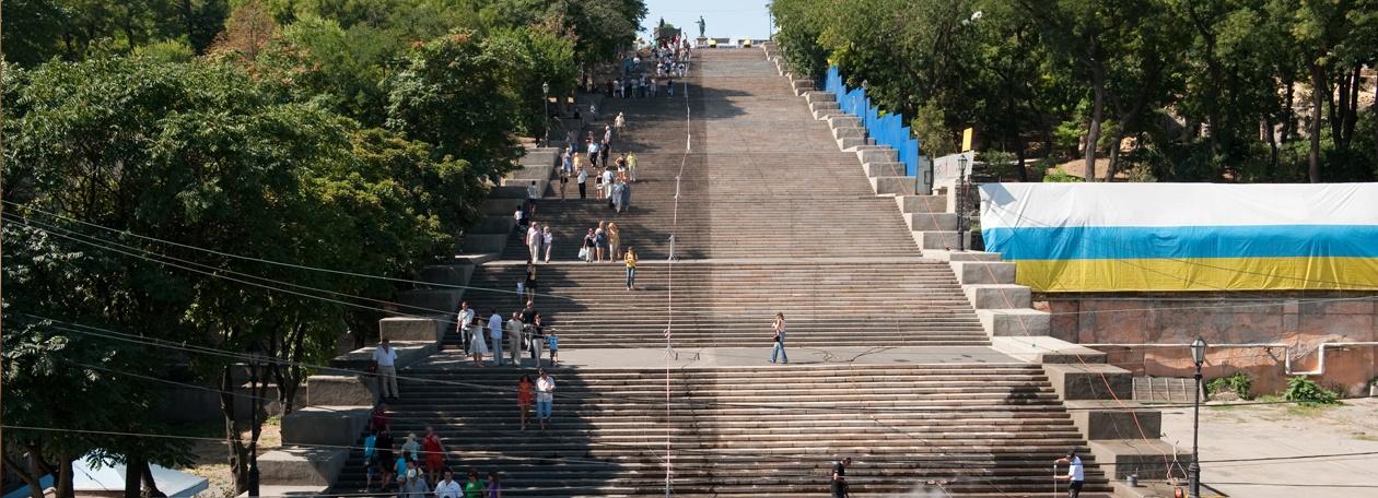 波将金阶梯 - ODESSA,乌克兰