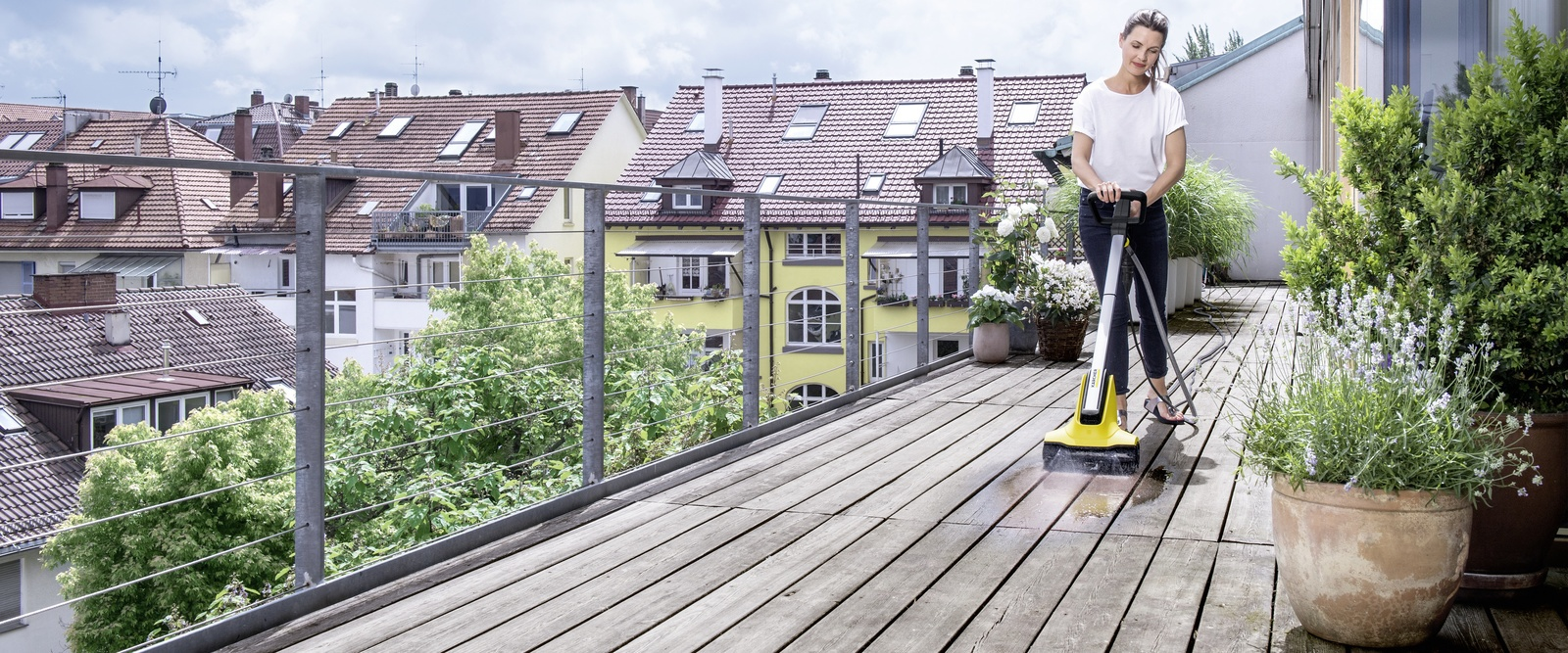 木制庭院清洁技巧