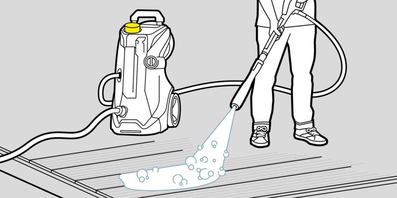 步骤一:使用清洁剂和护理剂