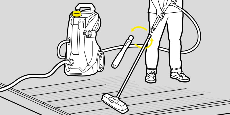 步骤三:再次加清洁剂