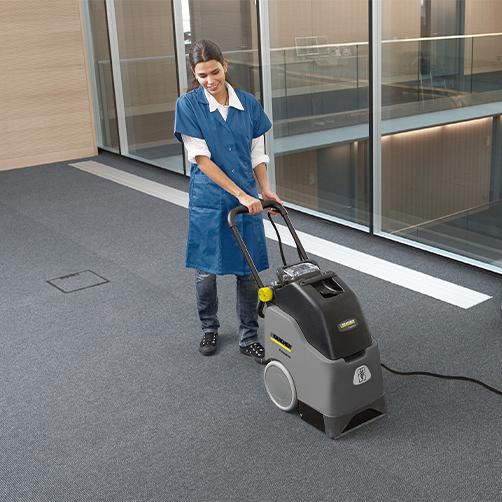 高品质的清洁工作
