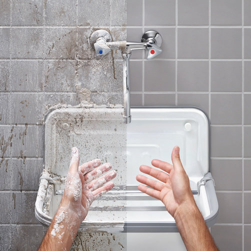 热水清洗,清洁效果更出众