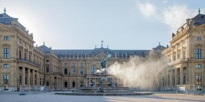 法兰克尼亚喷泉 - 乌兹堡,德国
