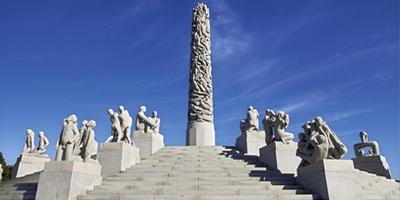 维格兰雕塑公园 - 奥斯陆,挪威