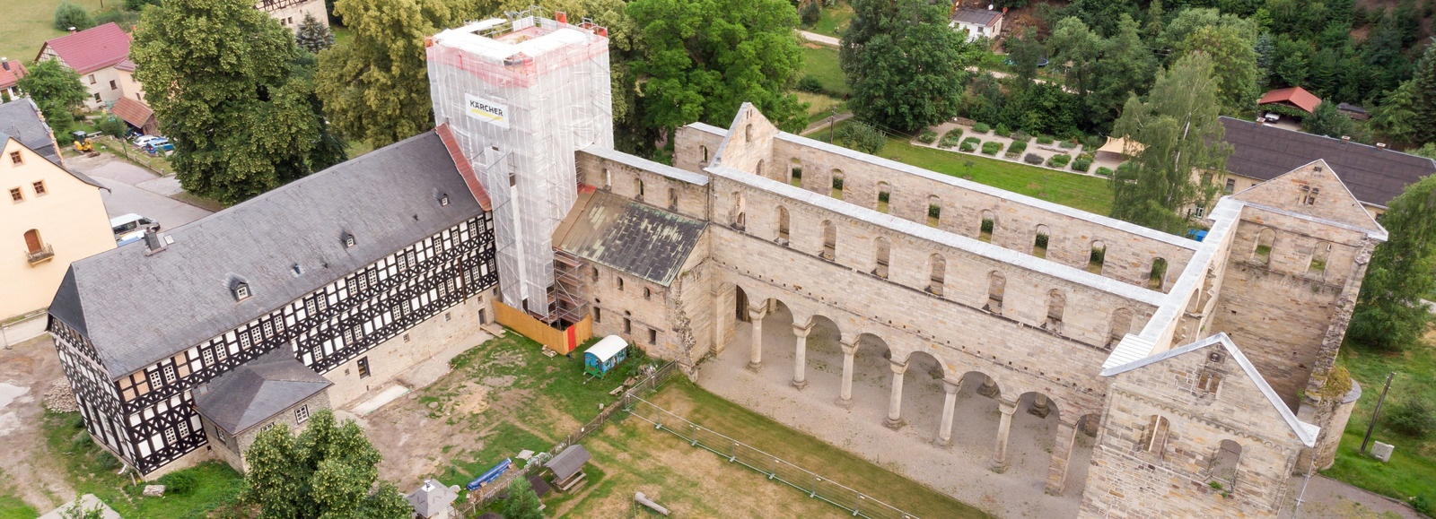 保林泽拉修道院 - 保林泽拉,德国