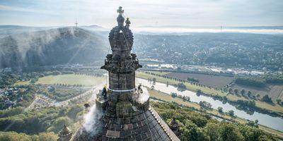 德皇纪念碑 - 波塔韦斯特法利卡,德国