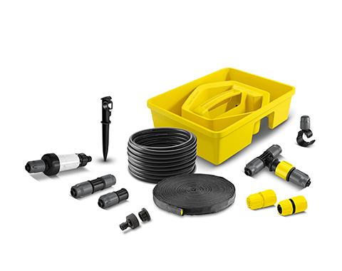 雨水套餐组合,10米四分管+15米供水软管+9个接头及固定件