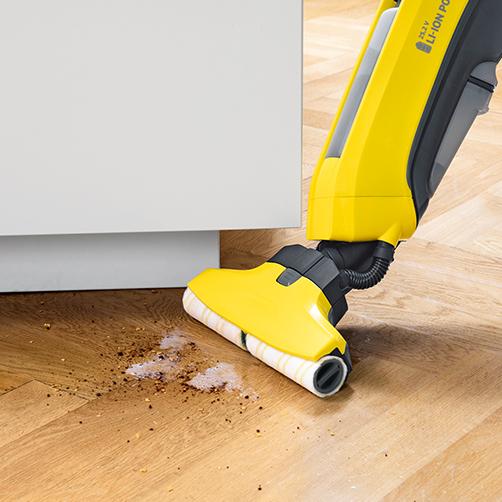 针对各种硬质地面 ,干、湿污渍一次解决