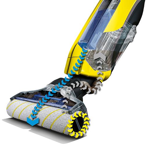 """创新""""双重自清洁技术"""",擦地同时机器自行清洁"""