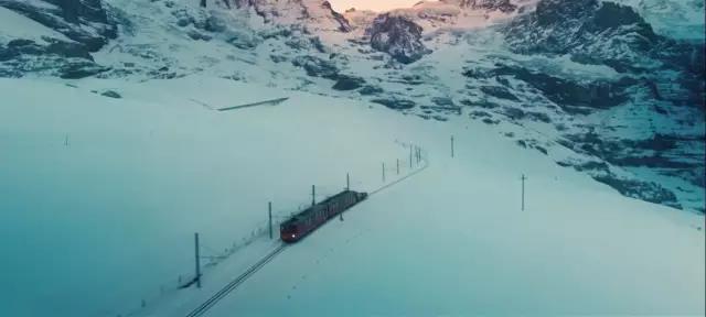 瑞士 - 阿尔卑斯山少女峰