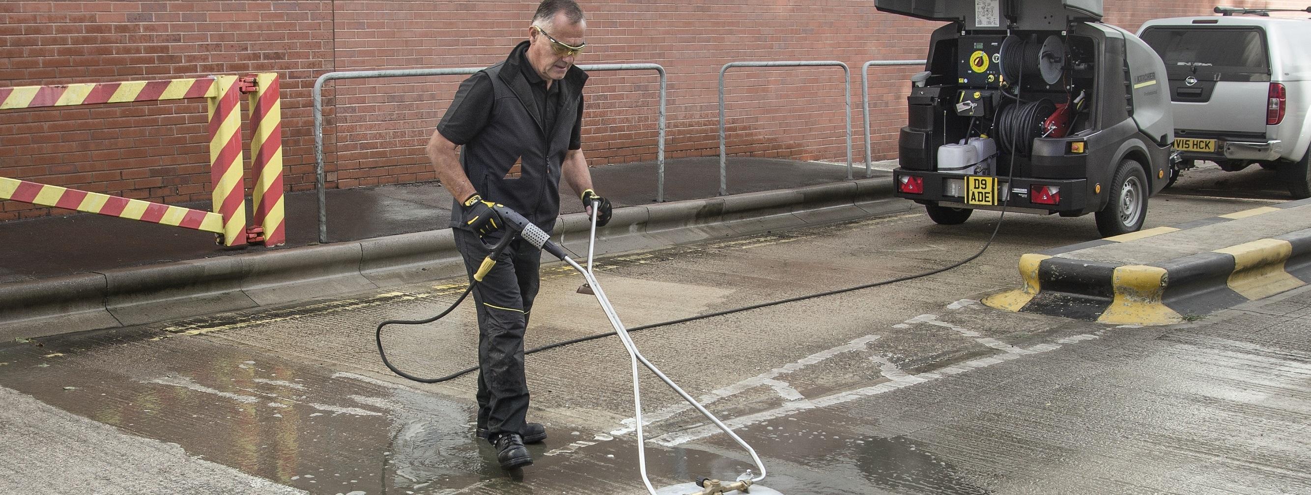 卡赫热水高压清洗机消毒杀菌的解决方案