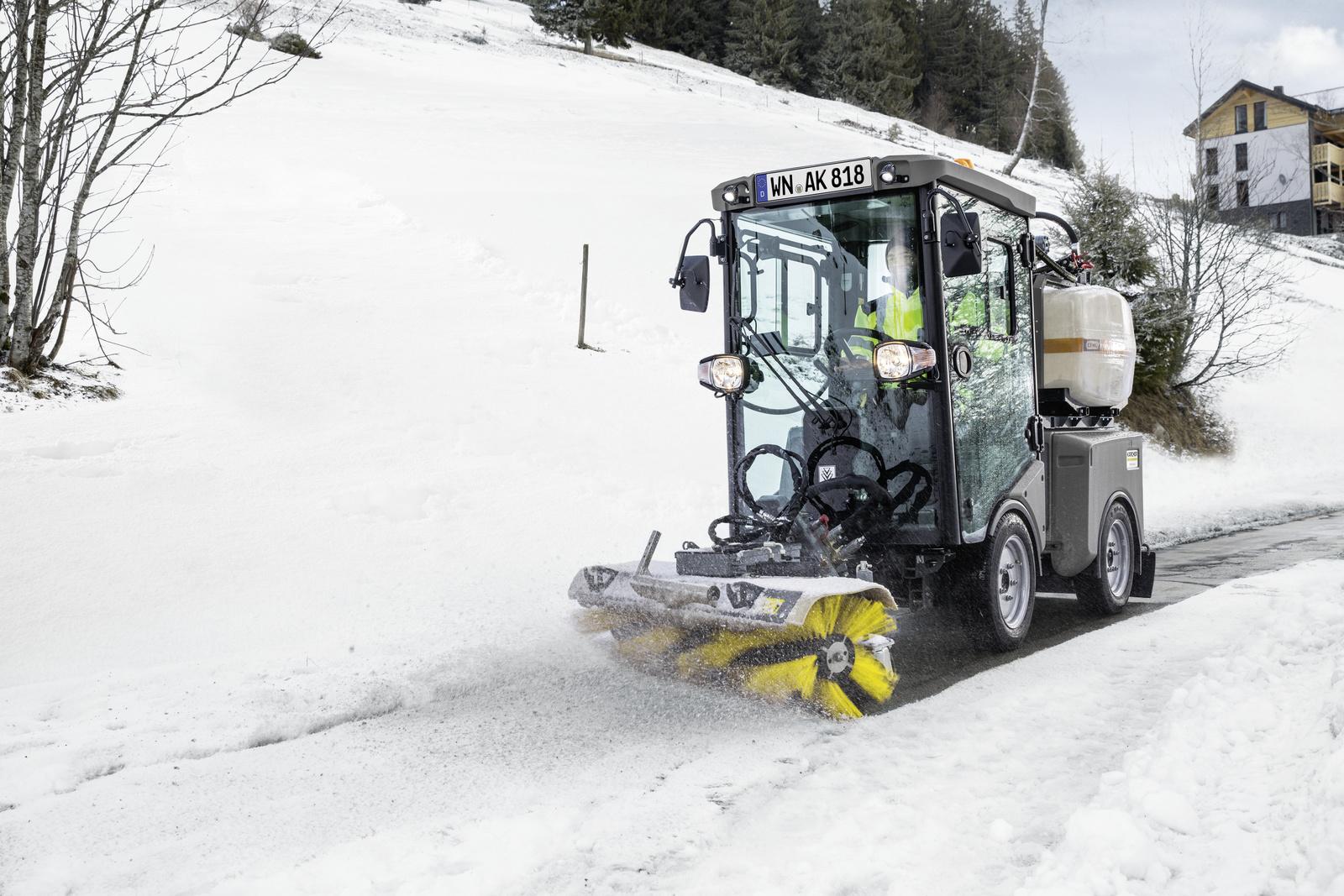 冬季扫雪附件