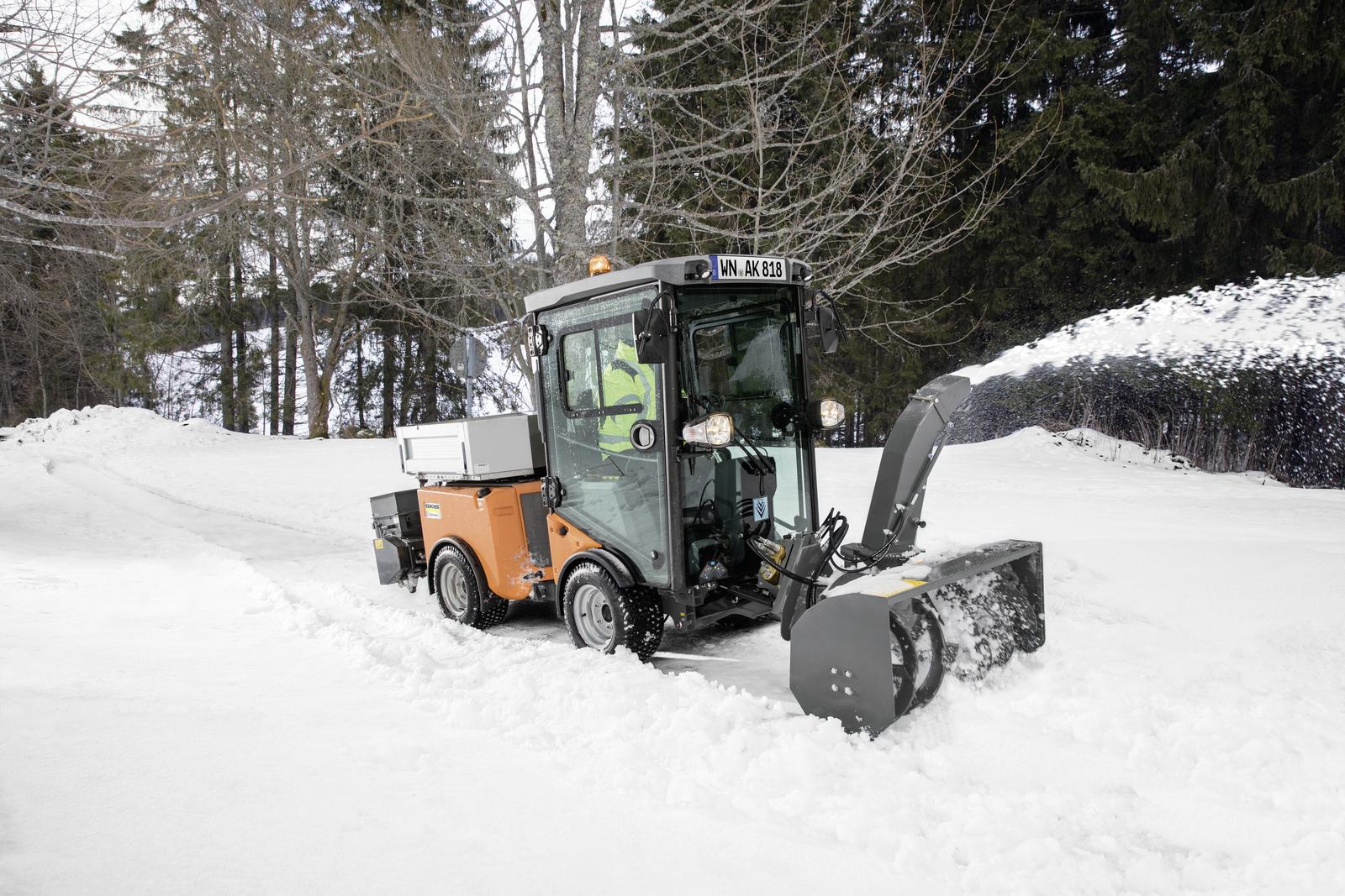 冬季扬雪附件