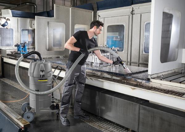 单体移动式工业真空吸尘器