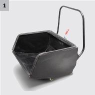 背部抽屉式推拉尘箱