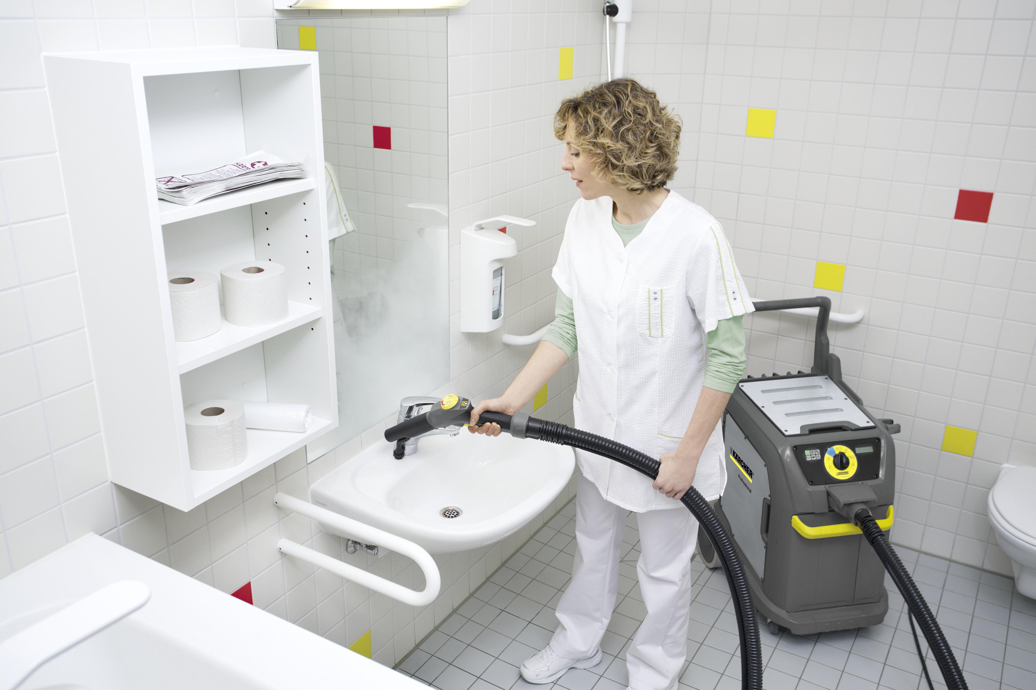 使用卡赫蒸汽机消毒杀菌的解决方案