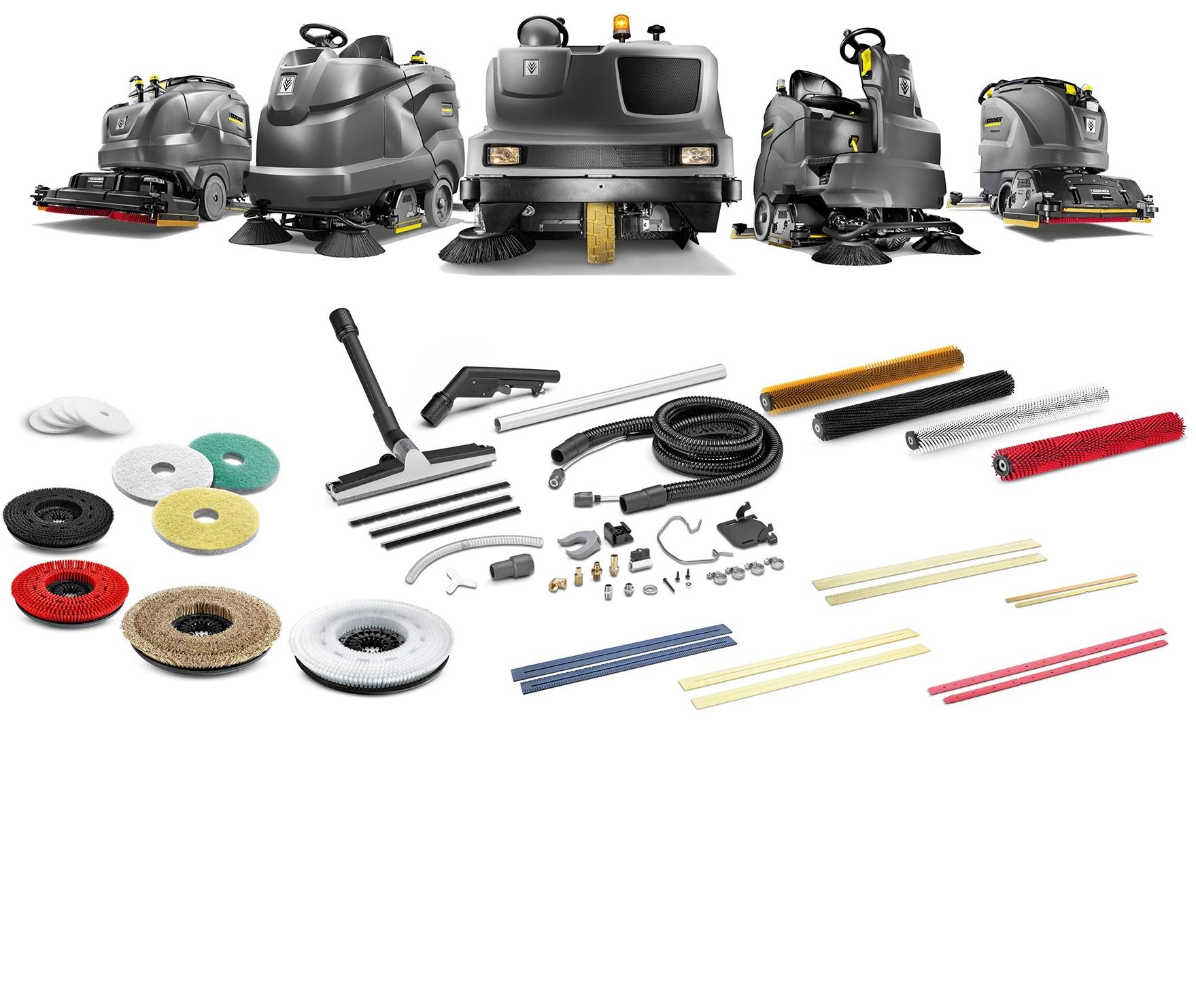 洗地机配件如何准确无误选择?卡赫带你了解专业洗地装备!