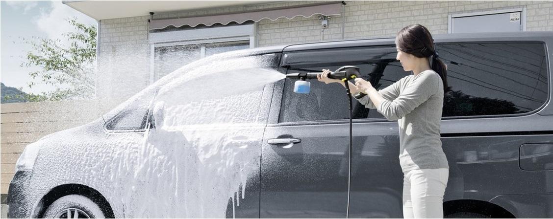 夏日炎炎如何轻松自如清洗车辆?卡赫帮你!