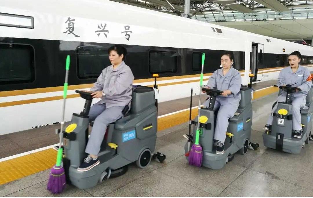适用于高铁车站各区域的卡赫专业清洁装备(下)