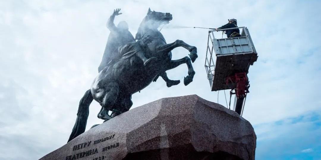 彼得大帝纪念碑 - 圣彼得堡,俄罗斯
