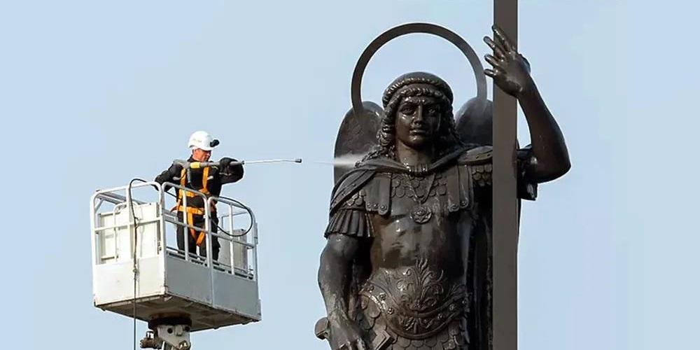 大天使圣米迦勒雕像 - 索契,俄罗斯