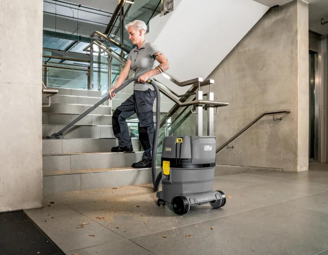如何正确地清洁楼梯?卡赫来教你