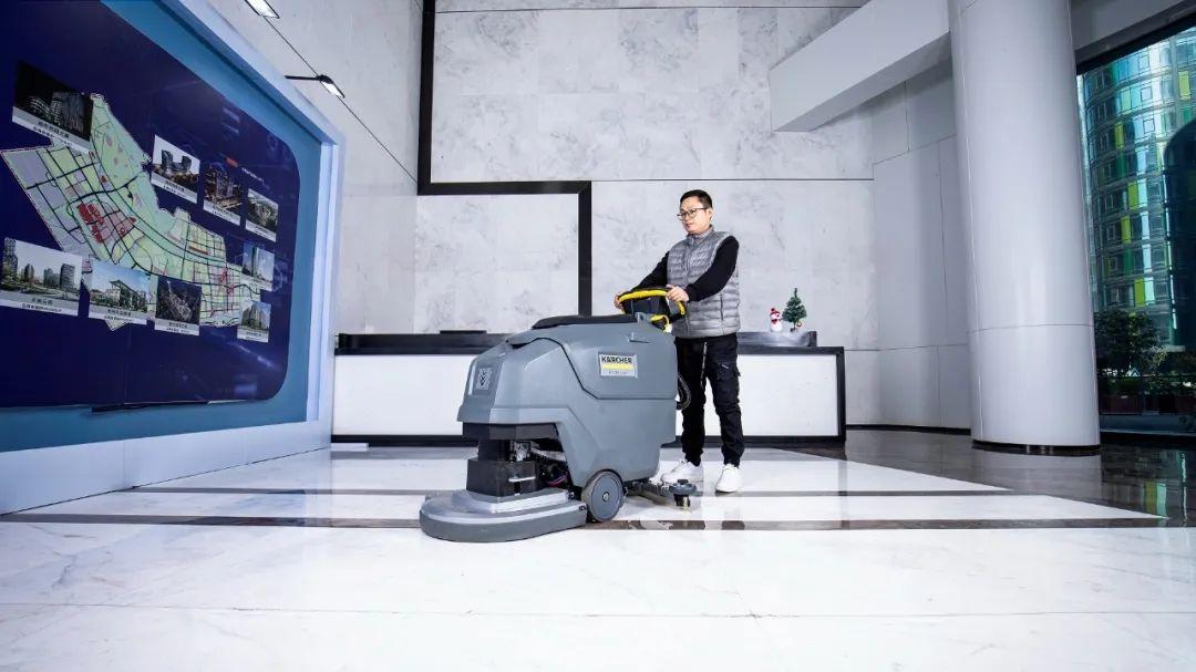 新品发布   卡赫手推式洗地吸干机BD 50/55 W Classic闪亮登场
