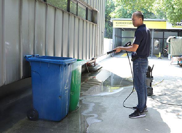 小区物业保洁
