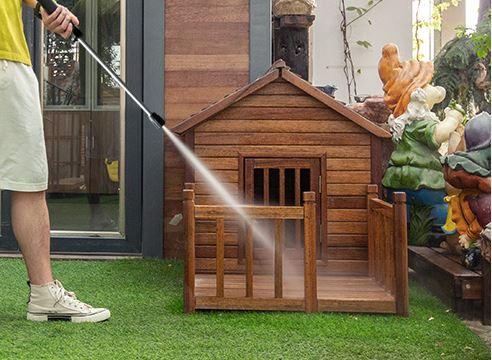 庭院设施清洗