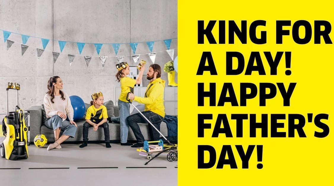 父亲节送礼送什么?卡赫K5高压清洗机让爱车的父亲净享驰骋
