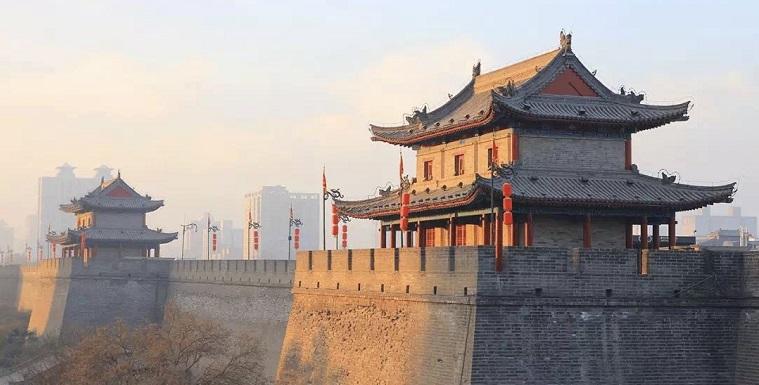 古城墙&关中书院 - 西安,中国