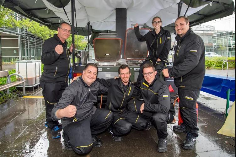 德国卡赫未来科技助力欧洲洪灾救援